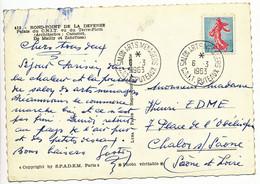 HAUTS DE SEINE CP 1963 PUTEAUX SALON ARTS MENAGERS CNIT PUTEAUX SUR SEMEUSE DE PIEL - 1961-....