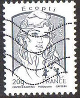 France Poste Obl Yv:4766 Mi:5607IxA Marianne & La Jeunesse (Lign.Ondulées) - Gebruikt