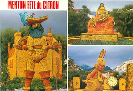 06 - Menton - Fetes Du Citron    - Sirene Lapin  A 771 - Menton