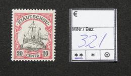 Nr. 32I  Kiautschou Postfrisch - Colonia: Kiautchou