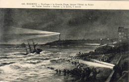 D64  BIARRITZ  Naufrage à La Grande Plage Du Voilier Suédois Padosa  ............. - Biarritz