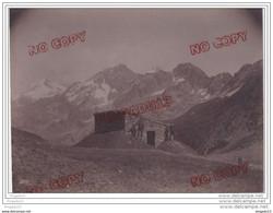 Au Plus Rapide Refuge Du Col De La Croix Du Bonhomme Savoie Chasseur Alpin Beaufort Sur Doron Très Beau Format - Krieg, Militär