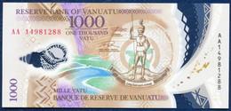 VANUATU 1000 VATU P-13 POLYMER SEA SHELL COQUILLE SCHALE 2014 UNC - Vanuatu