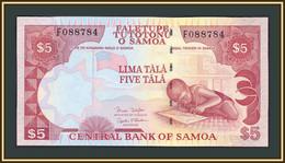 Samoa 5 Tala 2005 P-33 (33b) UNC - Samoa