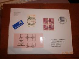 A-LP-Brief über 100g Von Dänemark-Deutschland Vom 17.11.20 - Covers & Documents
