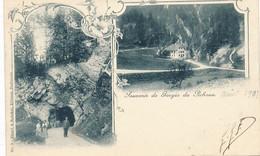 CPA (précurseur) -21466 - Suisse-Souvenir Multi-vues De Gorge De Pichoux-Envoi Gratuit - JU Jura
