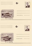 2 Carte Entier Postaux Belgacom Abonnez-vous - Tarjetas Ilustradas