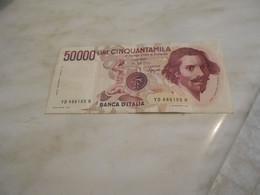 ITALY   1984  -  LIRE  50 000  BILLET   - LETTER  D - SIGNED   CIAMPI   SPEZIALI  -   RARE - 50000 Lire