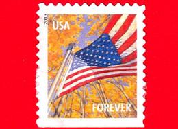 U.S. - USA - STATI UNITI - Usato - 2013 - Bandiera - Flag - Stagioni - Autunno - Forever - Usados