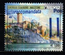 ITALIA - 2017 - EUROPA - CASTELLO SCALIGERO - MALCESINE - USATO - 2011-...: Afgestempeld