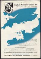 Großbritannien, Great Britain - Guernsey Herm Island 1961 / Europa CEPT / Prospectus, Leaflet, Brochure - 1961