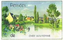 79    PENSEES  DE   CHEF  BOUTONNE    CPM  TBE  VR639 - Chef Boutonne