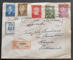 Niederlande 1954, Reko Brief MiF TILBURG Gelaufen Bad St. Leonhart Kärnten - Covers & Documents