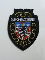Ecusson à Coudre De Quincy-sous-Sénart (291 - Patches