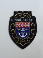 Ecusson à Coudre De Rimaucourt (52) - Patches