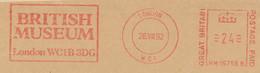 Freistempel 9593 British Museum London - Machine Stamps (ATM)