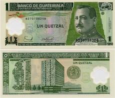 GUATEMALA       1 Quetzal       P-109       20.12.2006       UNC - Guatemala