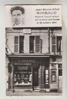 CPSM CHARLEVILLE (Ardennes) - Jean Nicolas RIMBAUD Est Né Dans Cette Maison Le 20/10/1854, Poète Explorateur - Charleville