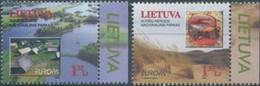 NB - [50900]TB//**/Mnh-Lituanie, 1999, Les Deux Timbres - 1999
