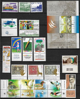 Israël  Lot De 22  Timbres Et 1 Bloc Neufs ** - Collections, Lots & Séries