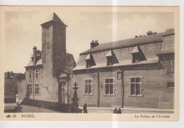 CPA-12-Aveyron- RODEZ- Le Palais De L'Evêché- - Rodez