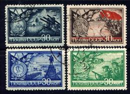 RUSSIE - 924/927°  - AUX DÉFENSEURS DE STALINGRAD - Used Stamps