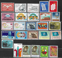 Nations Unies,  Lot De 26  Timbres Neufs ** - Collections, Lots & Séries