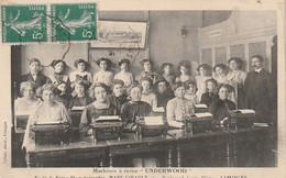 *** 87  ***  Machines à écrire Uderwood école De Sténo Dactylographie Marc Girault LIMOGES - TTB - Limoges
