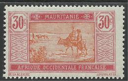 MAURITANIE 1922 YT 43** - Neufs