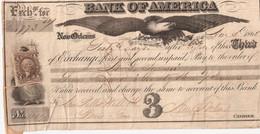Etats-Unis Fiscal Sur Bon Au Porteur De 1865 De La Nouvelle Orléans - Fiscaux