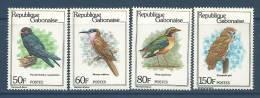 "Gabon YT 442 à 445 "" Oiseaux "" 1980 Neuf** - Gabun (1960-...)"