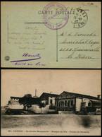 DEL094 - Carte En Franchise Militaire De Cannes France à Le Havre 1917 - Altre Lettere