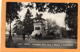 Siena Italy 1930 Postcard Mailed - Siena