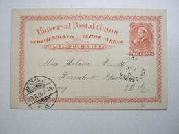 19090 , Ganzsache  Nach Deutschland - Lettres & Documents