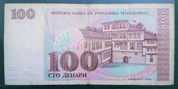 100 Dinara 1993 // BZ // БЦ // Narodna Banka Na Republika Makedonija - Macedonië
