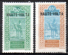 Haute Volta : Yvert N° 41(*) 42* - Neufs