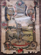 Military WW1 Austro-hungarian Litography Color 1914 1915 - Collections