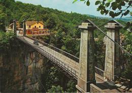 Cusy - Gruffy (74) Le Pont Suspendu De L'abime - Construit En 1887 Sur Le Cheran ( Longueur 64m - Hauteur 95 M ) - Otros Municipios