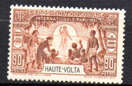 Haute Volta : Yvert N°  68* - Neufs