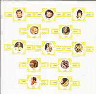 Star Trek : Complet Set Cigarbands / Serie Complet De Bagues De Cigares //volldige Reeks Sigarenbanden - Andere