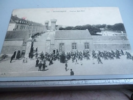 CP 14/18 DUNKERQUE  CASERNE JEAN BART CACHET HOPITAL TEMPORAIRE - Dunkerque