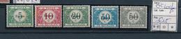 BELGIUM WW1 OC 101/5 MNH - [OC55/105] Eupen/Malmedy