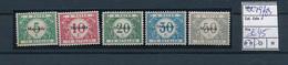 BELGIUM WW1 OC 79/83 MNH - [OC55/105] Eupen/Malmedy