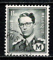 Belg. 1967 OBP/COB M 1 Gest./obl. - Militares (Sellos M)