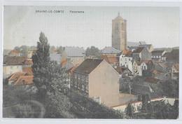 Braine-le-Comte : Panorama, Gauffrée Couleur - Braine-le-Comte