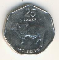 BOTSWANA 2009: 25 Thebe, KM 28 - Botswana