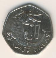 GAMBIA 1998: 1 Dalasi, KM 59 - Gambia