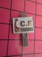 316A Pin's Pins / Beau Et Rare : Thème MARQUES / AFFICHAGE GIRAUDY GIRAFE COMITE D'ENTREPRISE - Marche
