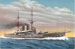 AK OLD  POSTCARD WWI WW1 AUSTRIA K.U.K. KRIEGSMARINE - S.M.S.  ERZHERZOG FRANZ FERDINAND - U7 - Warships