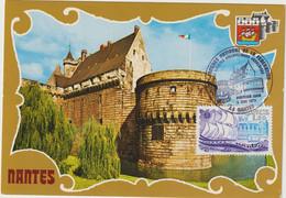 Carte-Maximum FRANCE N° Yvert 2048 (Château De NANTES) Obl Sp Ill 1er Jour (Ed La Cigogne 363) - 1970-79